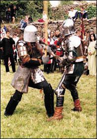 Turniej rycerski pod murami w Kożuchowie