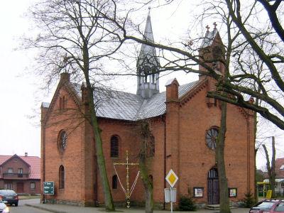 Kościół w Lubiszynie